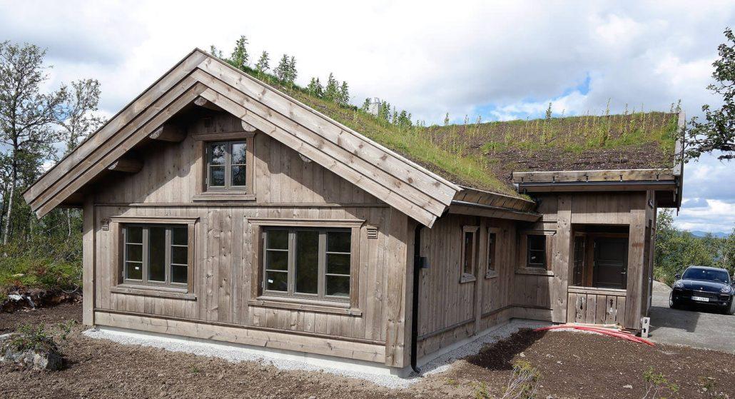 Bindingsverk hytte