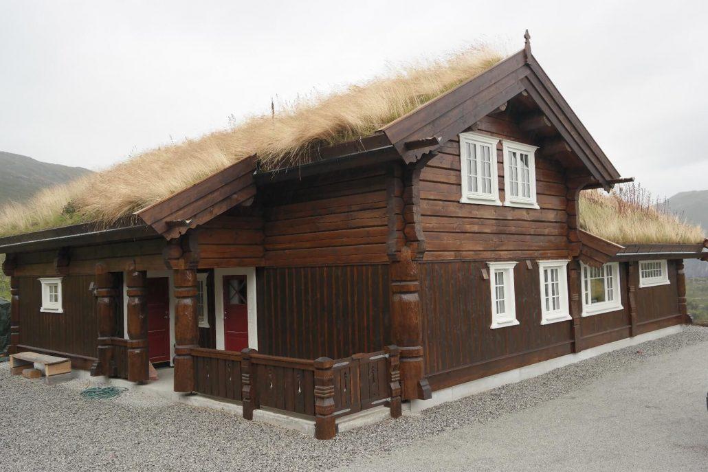 Stavlaft hytte